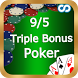 9/5 Triple Bonus Poker by SBMApps