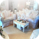Shabby Chic Living Room Ideas by ByRom