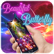 Neon Beautiful Butterfly Theme by Launcher Fantasy