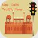 Delhi Traffic Tickets by easyincc