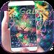 Galaxy tiger Keyboard theme by Locker Themes Center