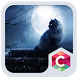 Moonlight Cat Theme HD by Best Themes Workshop