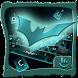 Neon Metallic Bat Keyboard Theme by TouchPal HK