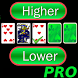 Higher or Lower Pro card game by galaticdroids