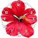 Flower Clock Live Wallpaper by Onex Labs