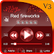 Red fireworks PlayerPro by Star Themes