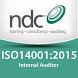 ISO14001 Auditor by NDC Global Auditros