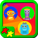 Kids Puzzles Robots by Torima Kids Puzzles