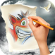 How To Draw Crash Bandicoot by SDN Daha 3