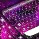 Pink Galaxy Keyboard by Themes World