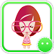 Stickey Glasses Girl by Awesapp Limited