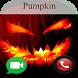 video call from evil Pumpkin Prank