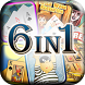 6 Solitaire Card Games Free by Happy Planet Games