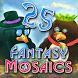 Fantasy Mosaics 25: Wedding Ceremony by Andy Jurko