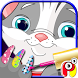Pets Nail art dress up Salon by Play Ink Studio