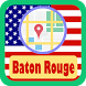 USA Baton Rouge City Maps by USA Maps and Street DIrections