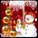 Christmas Snowman Theme by Cool Theme Love