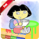 Coloring Book For Dora Tips by freesoftsone