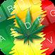 Weed Reggae Keyboard Theme by KeyboardThemez