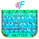 Glitter Colors Cute Keyboard Theme by Super Themes HD