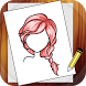 Learn To Draw Hairstyles by Alfred Ton