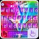 Neon Zipper Keyboard Theme by TouchPal HK