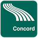 Concord Map offline by iniCall.com