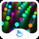 Neon Flicker Keyboard Theme by TouchPal HK