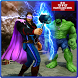 Superhero Hammer Man & Incredible Green Monster by Marvelous Bros Studios