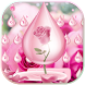 Pink Rose Water Keyboard Theme by NeoStorm We Heart it Studio