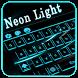 Neon Light Keyboard by Super Keyboard Theme