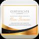 Certificate Maker Pro by rpml dev