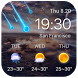 Galaxy live weather clock by Weather Widget Theme Dev Team