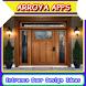 Entrance Door Design Ideas by Arroya Apps
