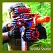 Nerf War Battle Video by MOBA Studio