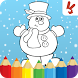 Kids coloring book christmas by 2bros - games for kids