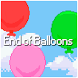 End of Balloons by Chris Lied