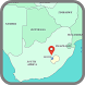 Lesotho Map by world map HD information