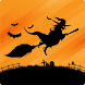 Halloween Flappy Witch by Aquiver