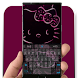 Glow Kitty Keyboard Theme by Katelyne Grossi