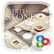 White Stone GO Launcher Theme by Freedom Design