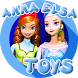 Toys Elsa Anna Frozen for Kids by Kids Videos