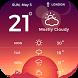 Free Galaxy Weather Widget by Applock Security