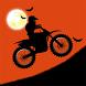 Free Moto Racer Halloween Town by OceanTree