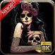 Sugar Skull Wallpaper 8K by Androito