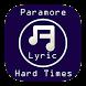 Hard Times - Paramore Lyrics by ViscaLabs