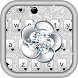 Diamond Glitter Keyboard Theme by Fantasy Keyboard studio