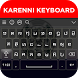Karenni Keyboard by Abbott Cullen