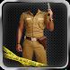 Police photo suit uniform by Prank Apps 2017