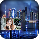 City Hoarding Photo Frame by Top Photo apps